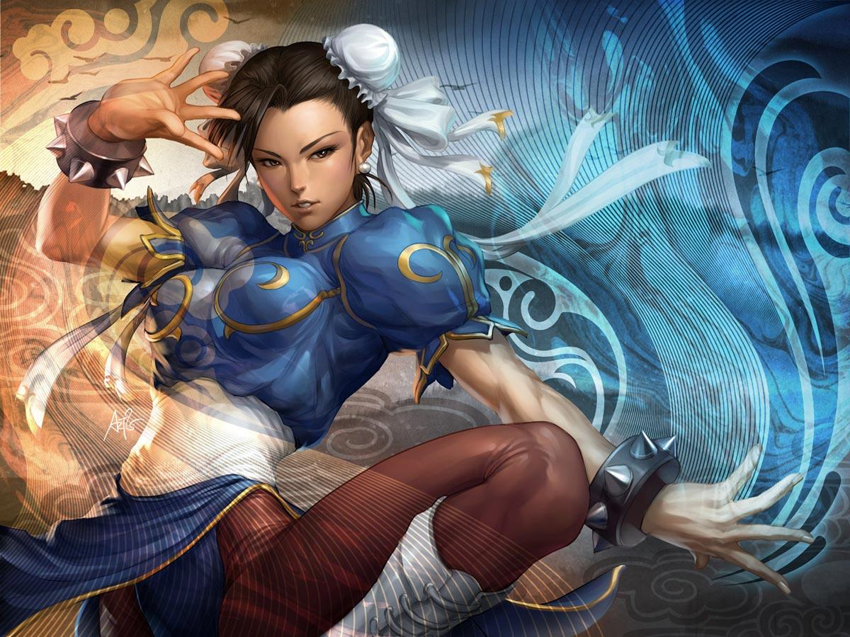 Chun li wallpaper1